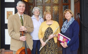 Burcot musicians' and Marian 2 Keith Woolford 11-3-16